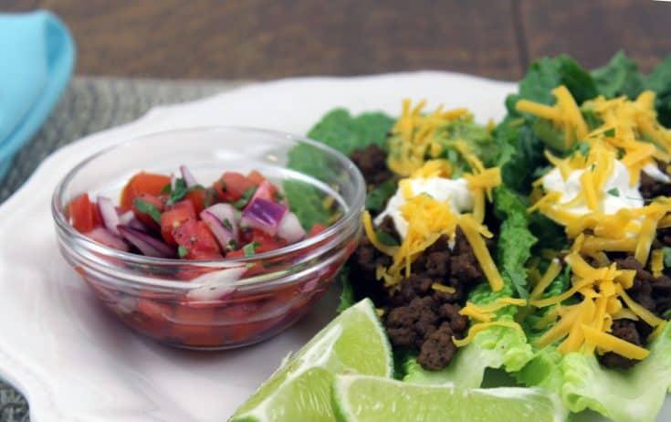 Easy 20 Minute Taco Boats ~ Keto, Gluten-free