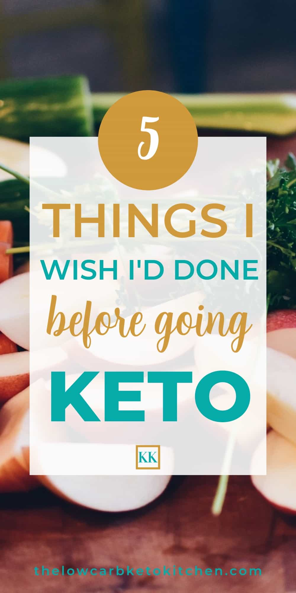5 Things I Wish I'd Done Before Going Keto