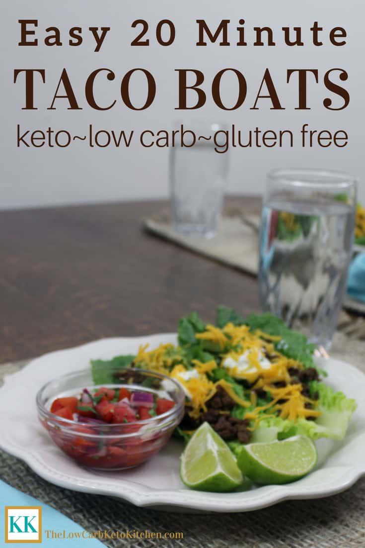 Easy 20 Minute Taco Boats