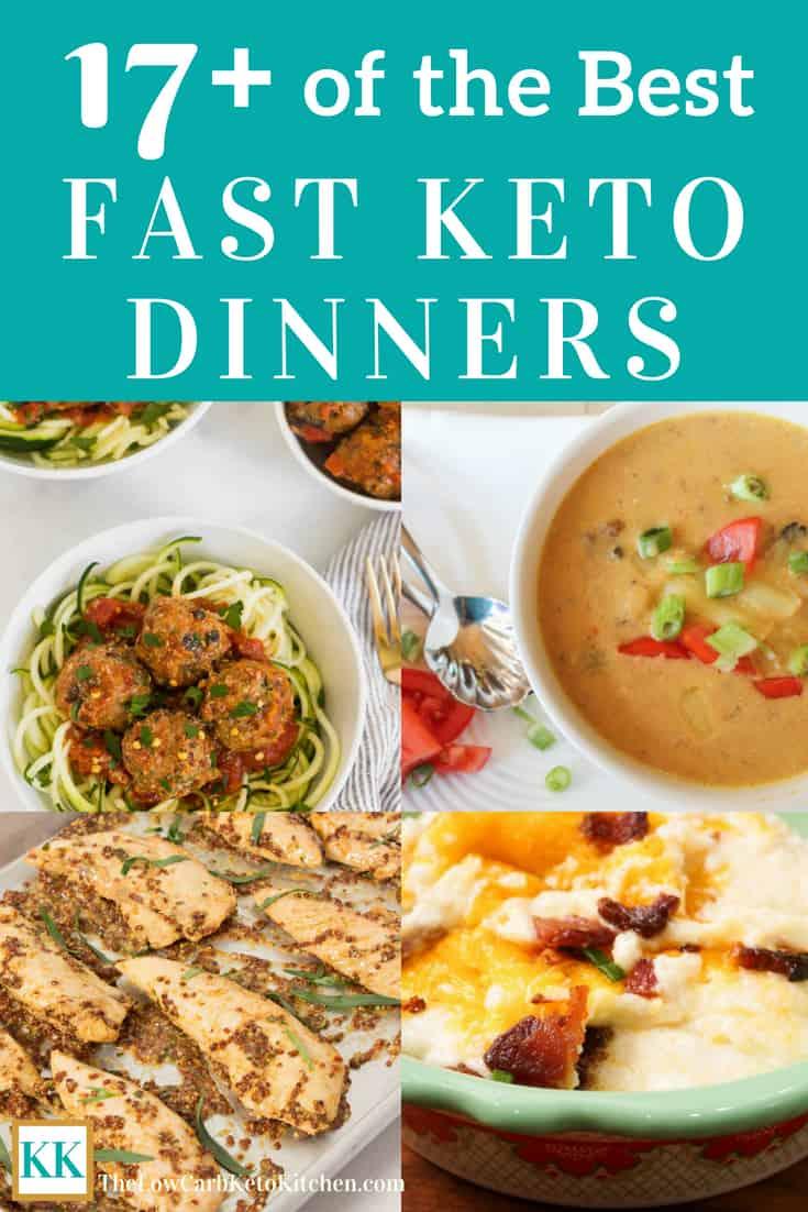 Fast Keto Dinner Recipes