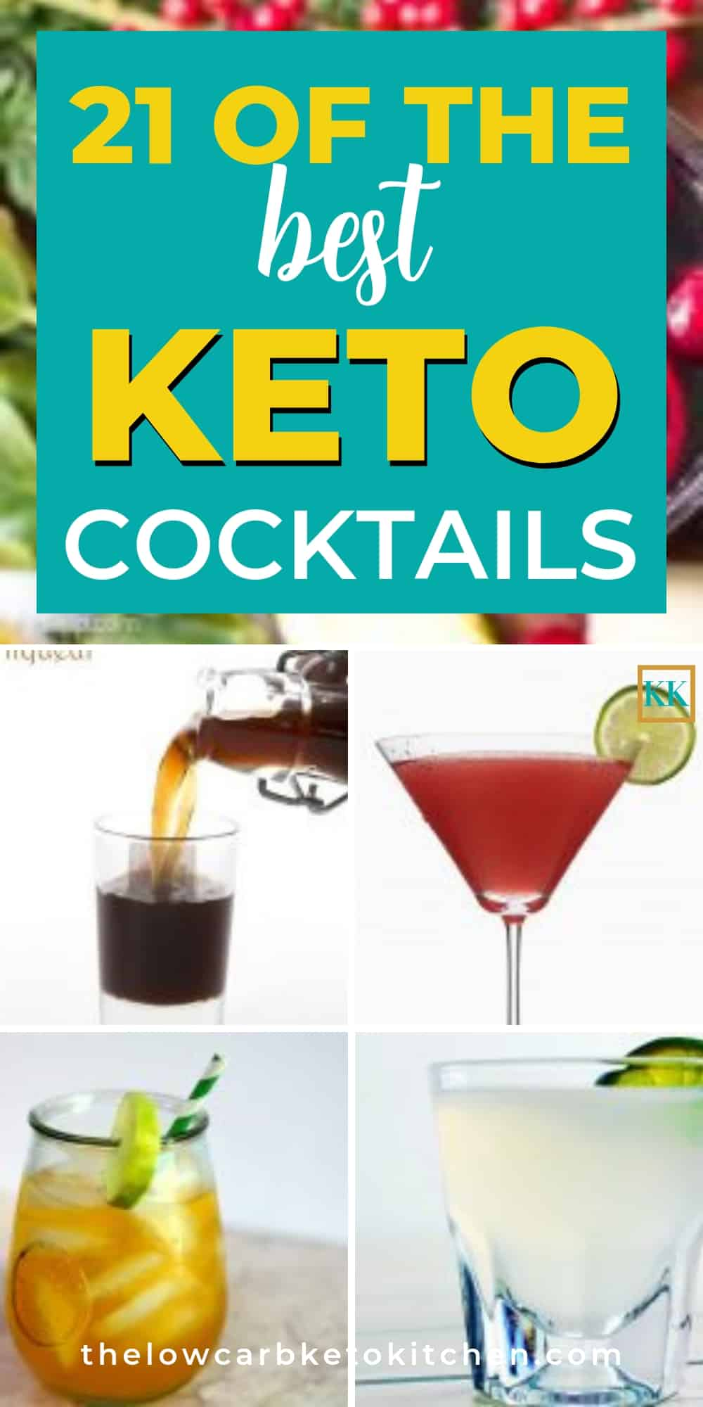 The Big Giant List of Low Carb & Keto Cocktails