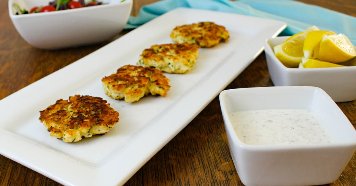 Keto Cheesy Chicken Patties