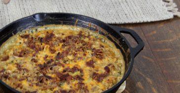 The Best Keto Chicken Bacon Ranch Casserole