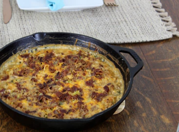 The Best Keto Chicken Bacon Ranch Casserole in the World