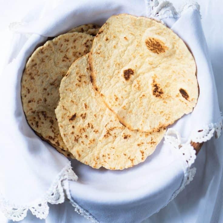 15-Minute Grain-Free Tortillas 🌮 gluten free & keto