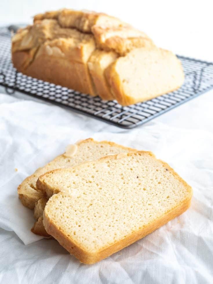 Keto Bread - Delicious Low Carb Bread - Soft with No Eggy Taste