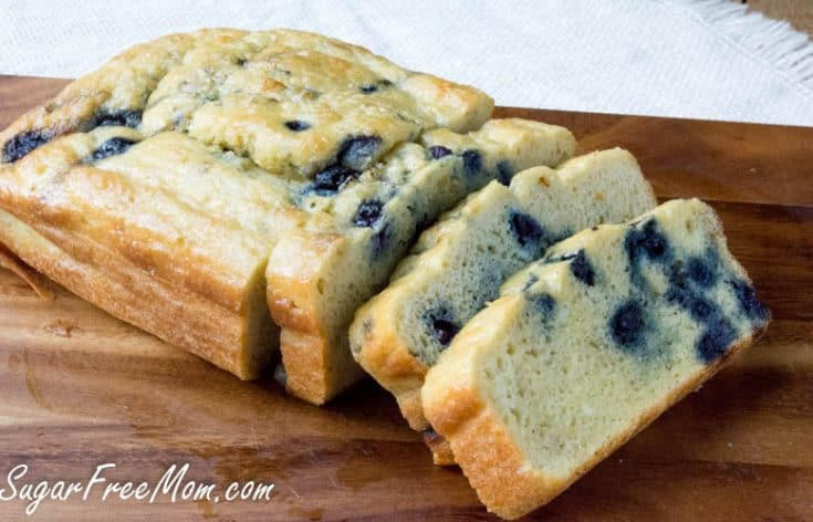 Blueberry English Muffin Bread Loaf