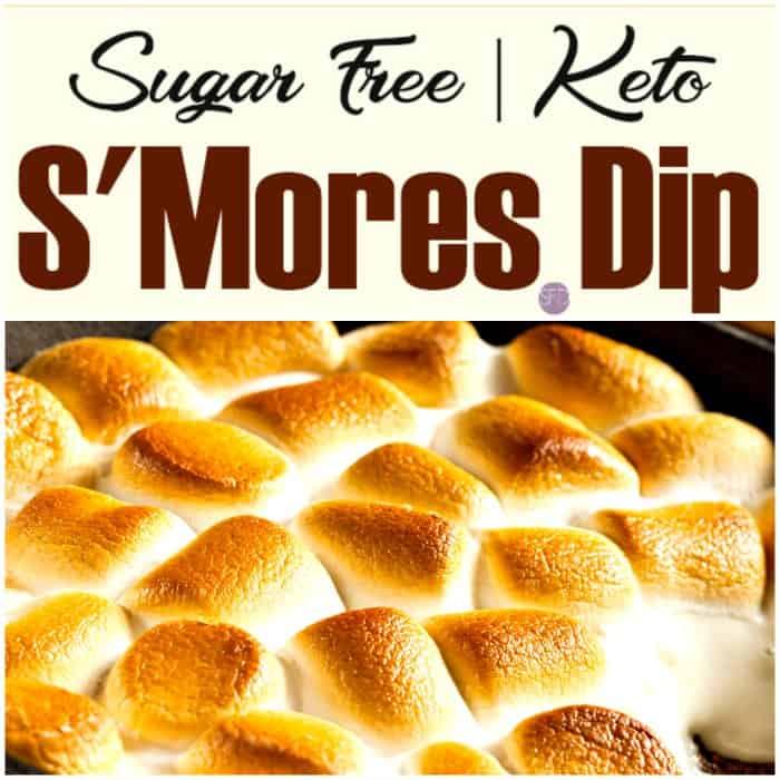 Keto S'Mores Dip