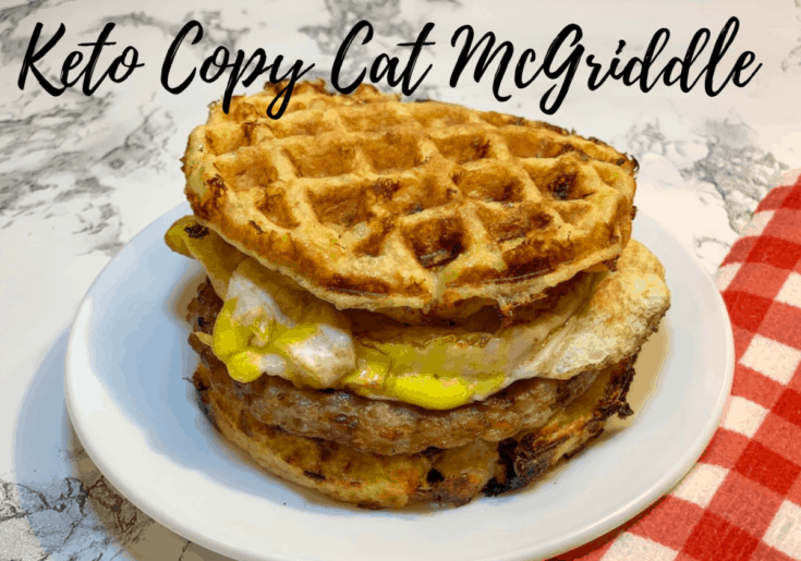 McGriddle Chaffle